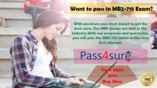 Download Real Microsoft MB2-715 Dumps