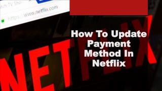 Payment method for netflix com activate