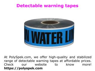 Green sewer detectable tape