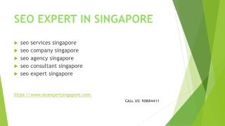 SEO  Expert Services Singapore Best SEO Company in Singapore