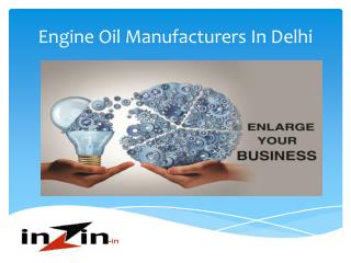Best engine oil manufacturers in india