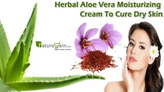 Herbal Aloe Vera Moisturizing Cream To Cure Dry Skin