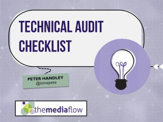 Technical SEO Audit Checklist