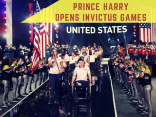 Prince Harry opens Invictus Games in Toronto
