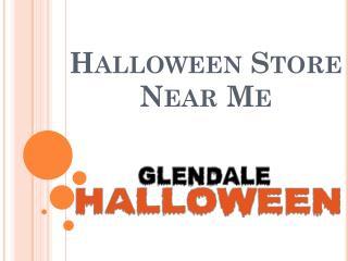 Halloween Store Near Me