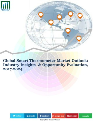 Globle Smart Thermometer Market- Industry News, Trends, Share, Growth, Opportunity and Forecast-2024
