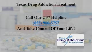 Drug Addiction Treatment Centers Texas