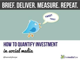 Defining & Measuring Social Media