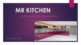 Mr. Kitchen-Modular Kitchen Designer & Manufacturer in Pune