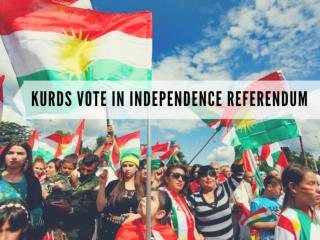Iraqi Kurdistan votes in independence referendum