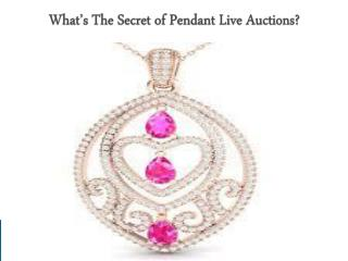 Live Auctions 360 - What's The Secret of Pendant Live Auctions?