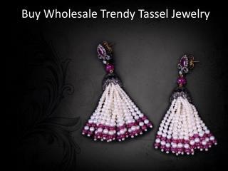 Wholesale Trendy Tassel Jewelry