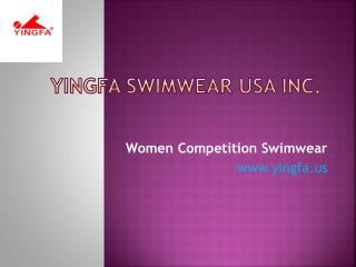 Comfortable Women Competition Swimwear