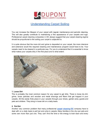 Benefits of Professional Carpet Cleaning Service in DC