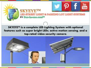 Led Street Light With Camera