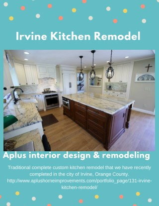 Irvine Kitchen Remodel