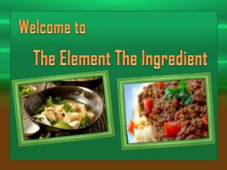 Get Fresh Ready Meals at The Element