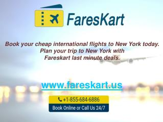 Cheap Flights to New York|Book Cheap New York Flights on fareskart.us