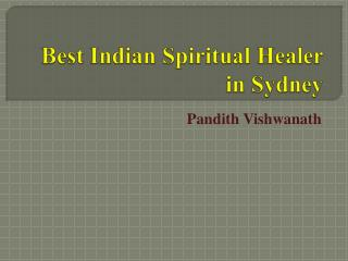 Best Spiritual healing services in sydney