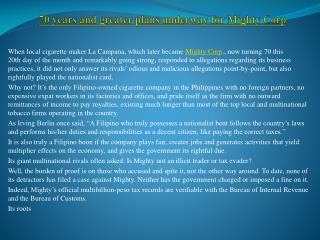 Mighty Corp execs seek junking of tax evasion case