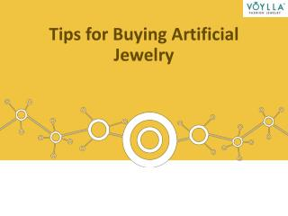 Tips for Buying Artificial Jewelry
