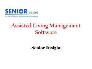 Assisted Living Management Software