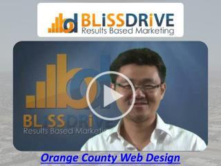 Orange county website design