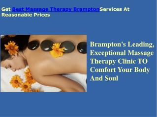 Best Massage Therapy Brampton