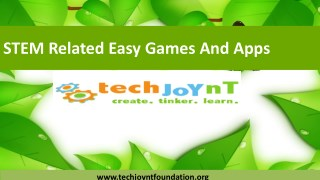 STEM Related Easy Games And Apps For Kids