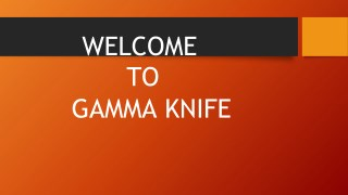 Gamma Knife Centre