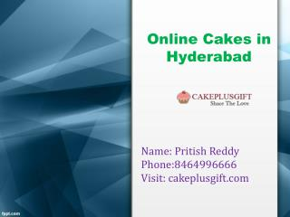 Online Cakes in Hyderabad | Birthday Cakes Delivery in Hyderabad