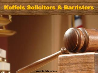 Koffels - Best Family Lawyer Sydney