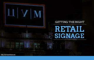 How to improve your retail signage to drive sales