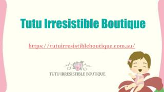 Decor for Girls at Tutu Irresistible Boutique