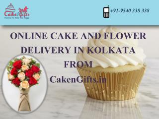 Order online cake delivery in Kolkata at very reasonable prices.