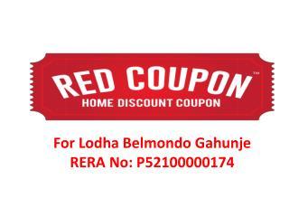 Book Affordable Flats in Lodha Belmondo at Gahunje