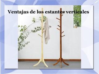 Ventajas de los estantes verticales