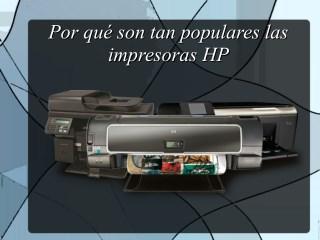 Por qué son tan populares las impresoras HP