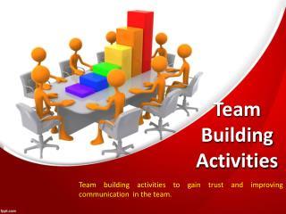 Top Features of Team Building Activities