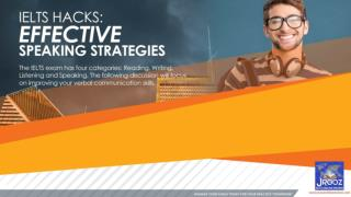 IELTS HACKS: Effective Speaking Strategies