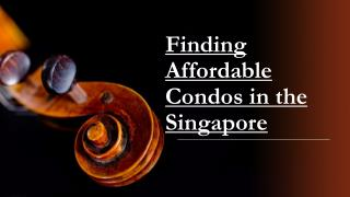Affordable Condos in the Singapore - Martin Modern