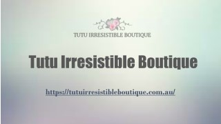 Buy Home Wellness Products at Tutu Irresistible Boutique