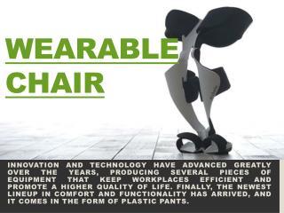 Wearable Chair