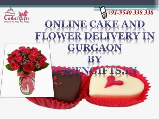 Online Birthday cake and flower delivery in Gurgaon