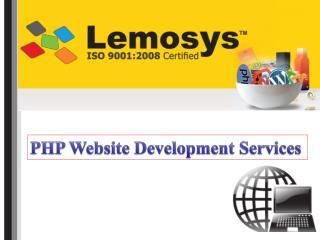 Lemosys Infotech Offers Excellent PHP Web Development Services