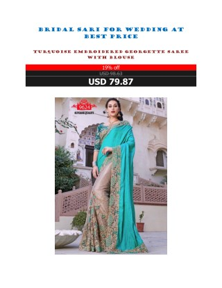 Bridal Sari For Wedding At Best Price