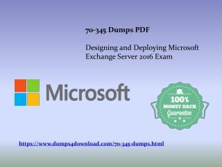Tips To Prepare 70-345 Exam | Microsoft 70-345 Exam Dumps PDF