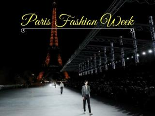 2017 Paris Fashion Week Spring and Summer