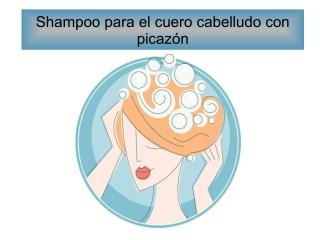 Shampoo para el cuero cabelludo con picazón