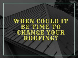 Right time to Replace your Roof